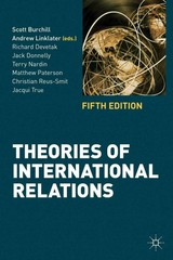 Theories of International Relations 5th Edition 9780230362239 0230362230