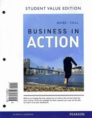 Business in Action, Student Value Edition Plus 2012 MyBizLab with Pearson eText -- Access Card Package 6th edition 9780133034035 0133034038