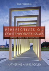 Perspectives on Contemporary Issues 7th Edition 9781285425849 1285425847