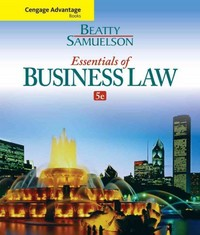 Cengage Advantage Books: Essentials of Business Law 5th Edition 9781285427003 1285427009