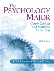 The Psychology Major 5th Edition 9780205829651 0205829651