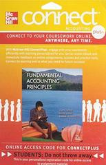 Connect Plus Accounting with LearnSmart 2 Semester Access Card for Fundamental Accounting Principles 21st Edition 9780077525088 0077525086