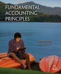 Fundamental Accounting Principles with Connect Plus 21st edition 9780077785925 0077785924