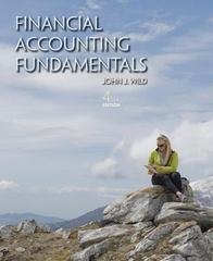 Financial Accounting Fundamentals 4th Edition 9780078025594 0078025591