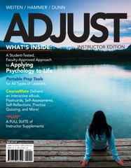 ADJUST (with CourseMate Printed Access Card) 1st Edition 9781133594987 1133594980