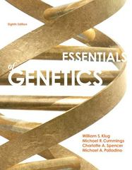 Essentials of Genetics Plus MasteringGenetics with eText -- Access Card Package -- Access Card Package 8th Edition 9780321803108 0321803108