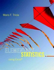 Elementary Statistics Using Excel 5th Edition 9780321851666 0321851668
