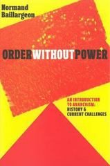 Order Without Power 1st Edition 9781609804718 1609804716