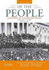 Of the People 2nd Edition 9780199924745 0199924740