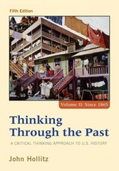 Thinking Through the Past 5th Edition 9781285427447 1285427440