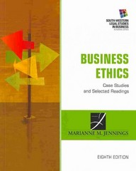 Business Ethics 8th Edition 9781285428710 1285428714