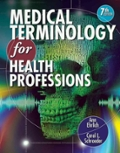 Bundle: Medical Terminology for Health Professions with Studyware CD-ROM + WebTutor™ Advantage on Blackboard® Printed Access