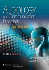 Audiology and Communication Disorders 2nd Edition 9781451132137 1451132131