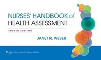 Nurse's Handbook of Health Assessment 8th Edition 9781451142822 145114282X