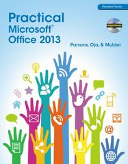 Practical Microsoft Office 2013 (with CD-ROM) 1st Edition 9781285075990 1285075994