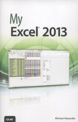 My Excel 2013 1st Edition 9780789750754 0789750759