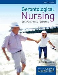 Gerontological Nursing 3rd Edition 9781284027198 1284027198