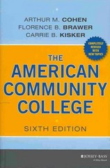 The American Community College 6th Edition 9781118449813 1118449819