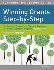 Winning Grants Step by Step 4th Edition 9781118378342 1118378342