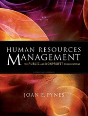 Human Resources Management for Public and Nonprofit Organizations 4th Edition 9781118398623 1118398629