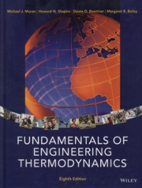 Fundamentals of Engineering Thermodynamics 8th Edition 9781118412930 1118412931