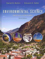 Environmental Science 9th Edition 9781118427323 1118427327