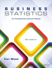Business Statistics 8th Edition 9781118800843 1118800842