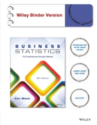 Business Statistics 8th Edition 9781118494769 1118494768