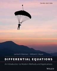 Differential Equations 3rd Edition 9781118531778 1118531779