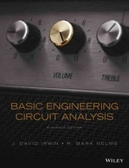 Basic Engineering Circuit Analysis 11th Edition 9781118539293 111853929X