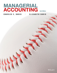 Managerial Accounting 2nd Edition 9781118548639 1118548639