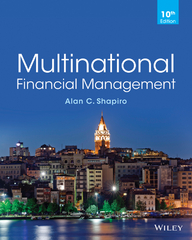 Multinational Financial Management 10th Edition 9781118801161 1118801164