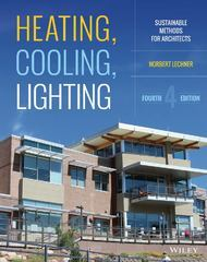 Heating, Cooling, Lighting 4th Edition 9781118582428 111858242X