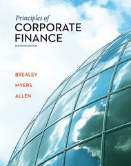 Principles of Corporate Finance 11th edition 9780078034763 0078034760