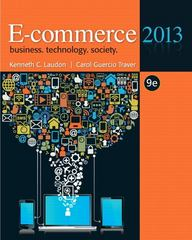 E-commerce 2013 9th edition 9780132730358 0132730359