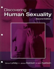Discovering Human Sexuality 2nd Edition 9780878938995 0878938990