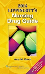 2014 Lippincott's Nursing Drug Guide 1st Edition 9781451186550 145118655X