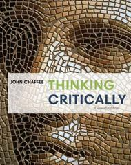 Thinking Critically 11th Edition 9781285430119 1285430115