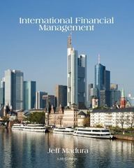 International Financial Management 12th Edition 9781285969763 1285969766