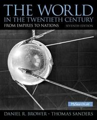 The World in the Twentieth Century 7th Edition 9780136052012 0136052010