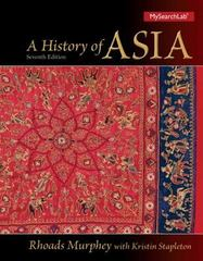 A History of Asia 7th edition 9780205168552 0205168558