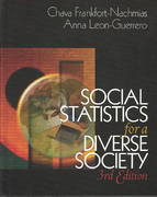 Social Statistics for a Diverse Society 3rd edition 9780761987437 0761987436