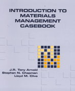 Introduction to Materials Management Casebook, Revised Edition 2nd Edition 9780131148482 0131148486
