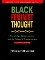 Black Feminist Thought 2nd Edition 9780415964722 0415964725