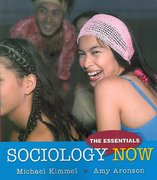 Sociology Now 1st edition 9780205593101 0205593100