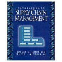 Introduction to Supply Chain Management 1st edition 9780136216162 0136216161