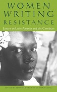 Women Writing Resistance 1st Edition 9780896087088 0896087085