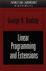 Linear Programming and Extensions 1st Edition 9781400884179 1400884179