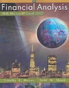 Financial Analysis with Microsoft  Excel 2002 3rd edition 9780324178241 0324178247