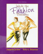 Inside the Fashion Business 6th edition 9780132381482 0132381486